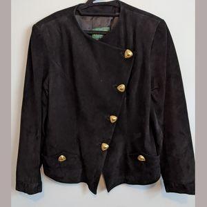 Vintage Danier suede blazer